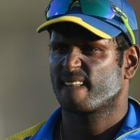 angelo mathews ruled out of the series against Pakistan in UAE