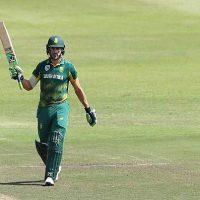 South Africa skipper Faf du Plessis has been ruled out of the one-day series against India due to finger injury.
