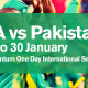 South Africa vs Pakistan 2019 ODI Series, South Africa vs Pakistan 2019 ODI Series: Statistical Overview