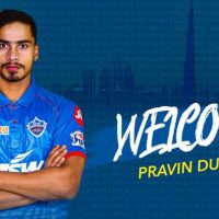 Praveen Dubey, Delhi Capitals, 2020 Indian Premier League, Amit Mishra